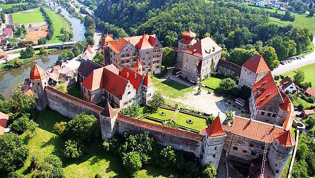 10 места от Романтичния път в Бавария