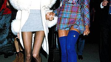 Кейт Мос и Наоми Кембъл през 90те