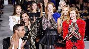 Balmain събра на едно място супермоделите на Милениума и ангелите на Victoria's Secret