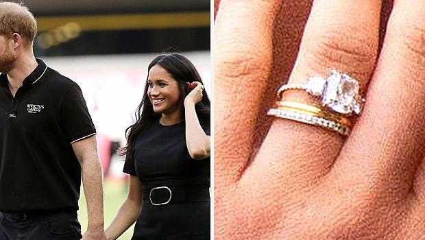 Принц Хари участва в създаването на нов пръстен за Меган Маркъл