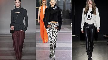 Най-добрата визия за зимата: пуловер & панталон