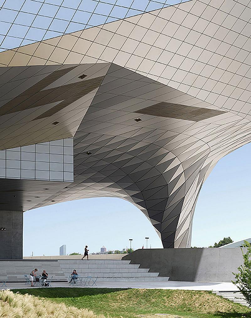 Категория ИЗПОЛЗВАЕМИ СГРАДИ / Фотограф: Фабрис Фуйе / Musee des Confluences, Лион, Франция / Архитект: Coop Himmelb(l)au