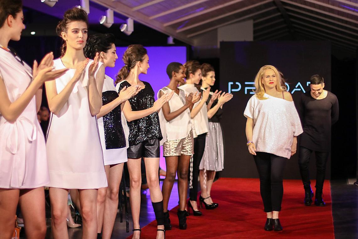 Дизайнерите на Pendari Борис Лемонов, Ирина Русева - Ирра на модния  подиум