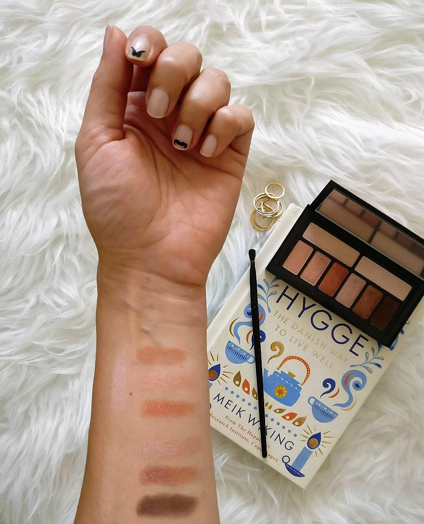 Ето как изглеждат цветовете от Cover Shot Petal Metal, нанесени върху кожата.