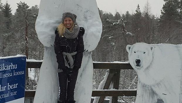 Елена Ангелова: МОЕТО МЯСТО е Лапландия!