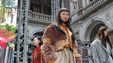 London Fashion Week: Позитивен заряд в носталгични цветове