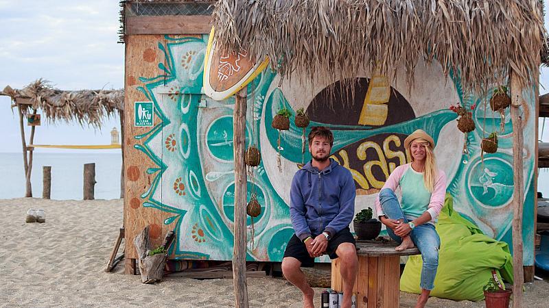 Двама сърфисти, една любов и три дни приключения в морето