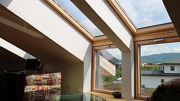 Прекрасен дом, създаден с грижата към природата и здравословния начин на живот