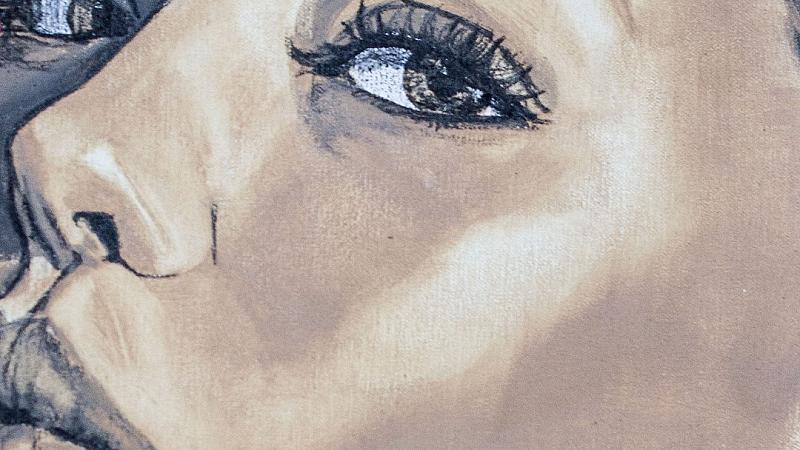 Портрети, рисувани с фон дьо тен