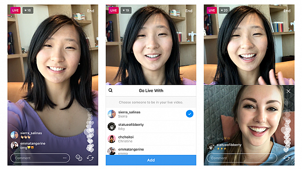 Вече можете да пускате общи LIVE видеа в Instagram