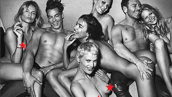 Звездите са голи... в Instagram