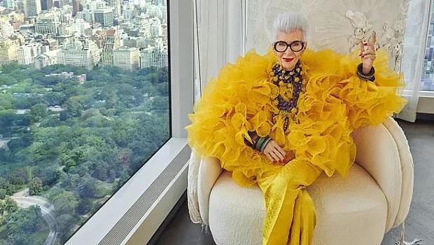 Айрис Апфел отбелязва своя 100-годишен юбилей с колаборация с H&M