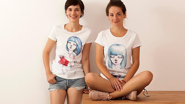 Ирмена Чичикова с първа колекция тениски