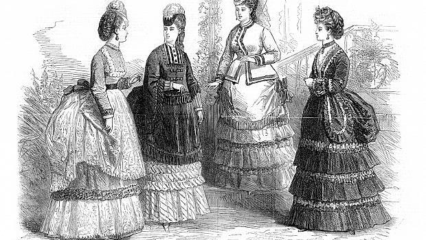 10 златни правила от миналото за поведението на една дама