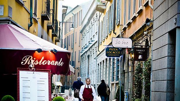 Милано през пролетта