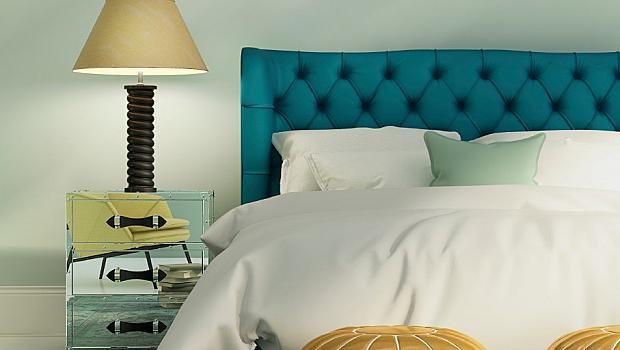 Цветен интериор в спалнята
