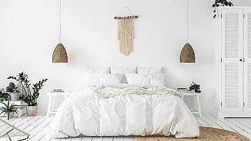 Как малката спалня може да изглежда по-голяма