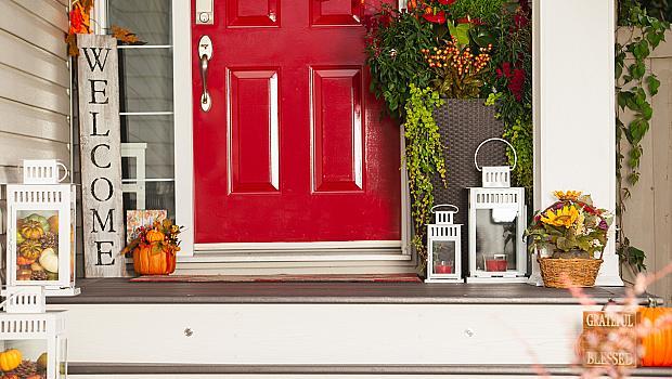 Декорация, вдъхновена от есента
