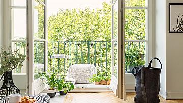 Как да превърнем балкона си в истинска градина