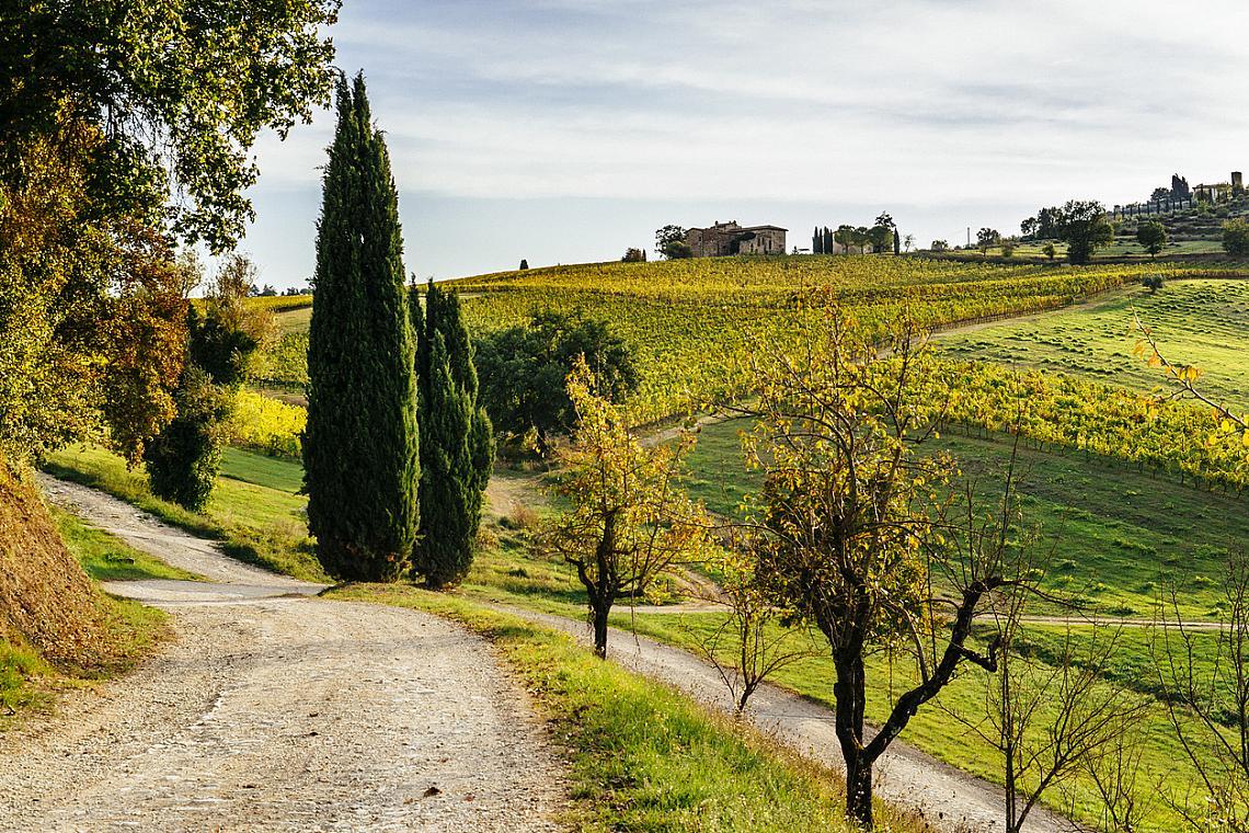Тоскана през есента