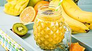 Люто ананасово детокс смути