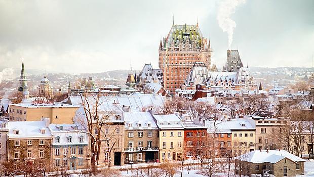 Романтиката на Квебек през зимата