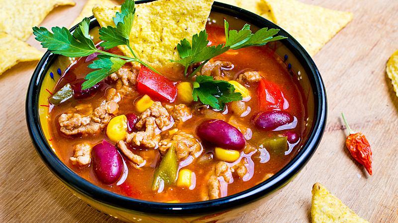 Мексиканска тако супа за студени дни