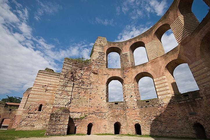 Руини от римски терми в Триер