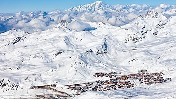 Вал Торенс, най-високият ски курорт в Европа