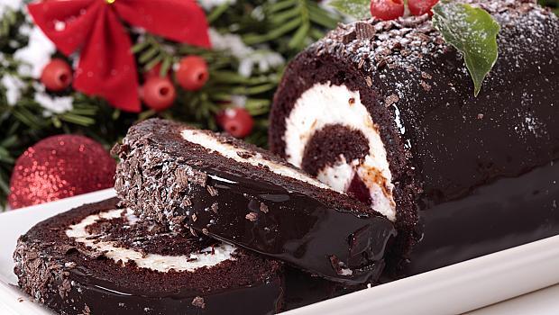 Bûche de Noël или Коледа по френски
