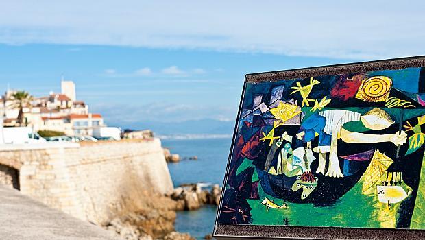 Антиб, където още живее артистичният дух на Пикасо