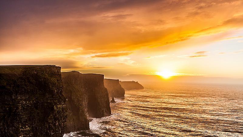 Когато сте в Ирландия: Дъблин vs. Скалите на Мохер