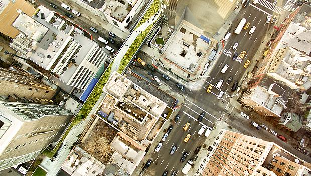 Хай Лайн: висящата градина на Ню Йорк