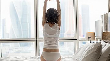 Упражнения в леглото