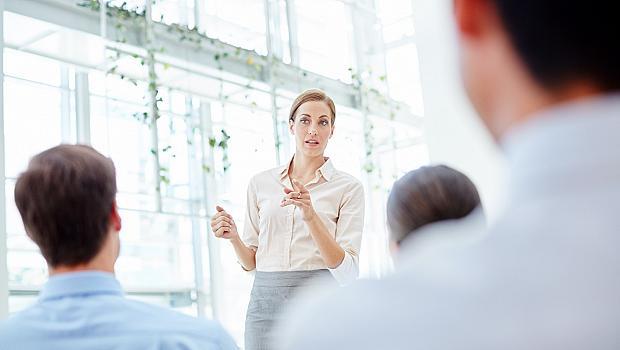Езикът на тялото на жената лидер