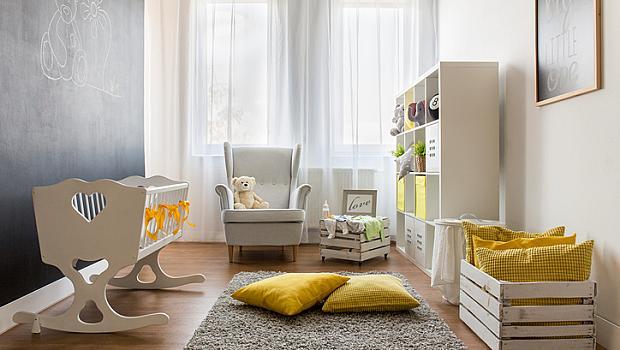 Модерните цветове в интериора на дома и детската стая