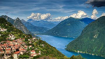 Магията на швейцарските Алпи: Красотата на Лугано ще ви плени
