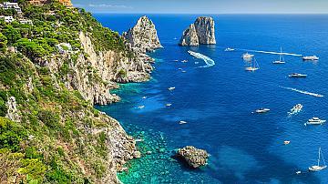 Пътешествие до островът на любовта и лимоните: Капри