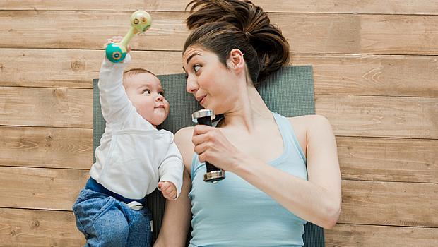 Тренировки за майки и бебета у дома