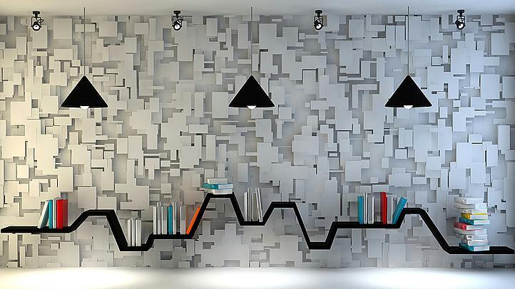 42 креативни идеи за домашната библиотека