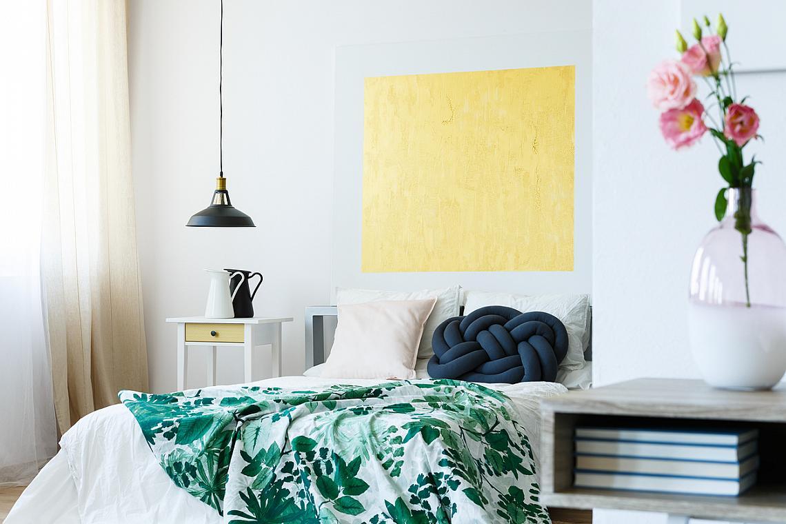 Зелената джунгла е тенденция и при спалното бельо.