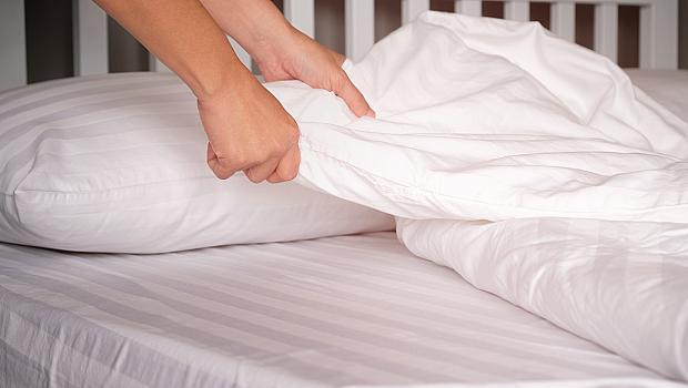 Колко често перете чаршафите си?