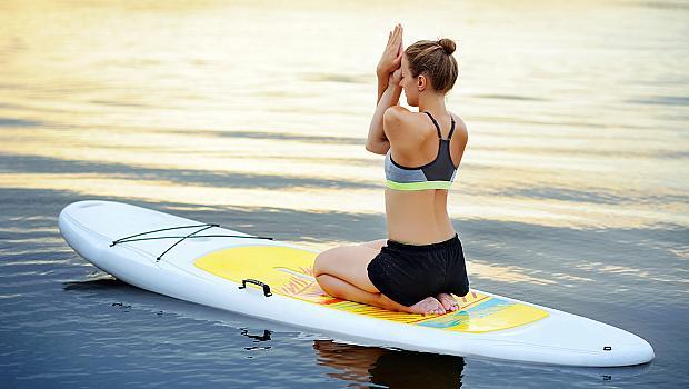 Нови спортове за ново тяло: SUP ЙОГА