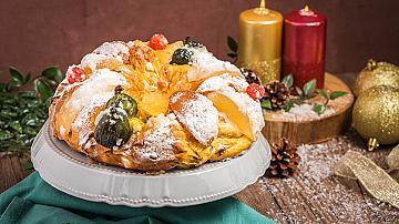 Португалски коледен кейк