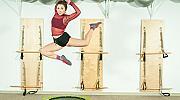 8 минути Fit Jumping вместо 3 км джогинг