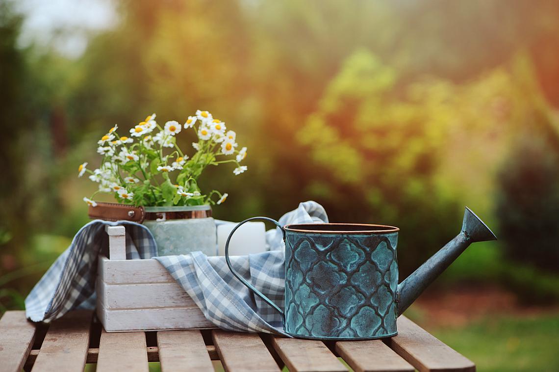 2. ГРАДИНАРСТВОТО определено е хюга. Без значение дали ще се грижите за домати, билки или цветя, дали ще е в двор или на терасата, уединението ви е гарантирано.
