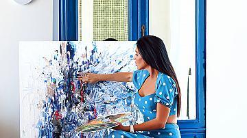 Ники Саркис рисува оди за живота