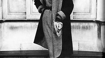 Черно-бели модни фотографии на Джон Френч