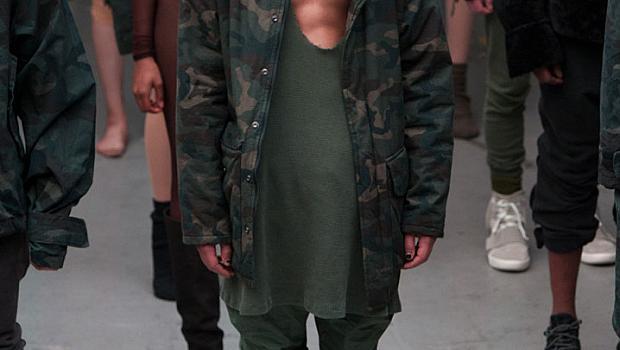 Ню Йорк есен-зима 2015: Kanye Wets for Adidas Originals