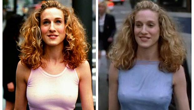 """Розова или синя е емблематичната рокля на Кари Брадшоу в сериала """"Сексът и градът""""?"""